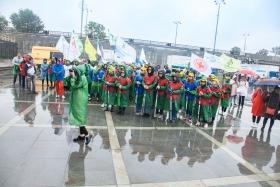 В Екатеринбурге в массовой акции «Территория здоровья» приняли участие более 1000 человек
