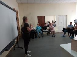 В Свердловском областном центре медицинской профилактики прошла «Школа здоровья 60+»
