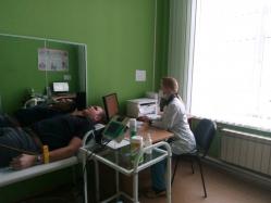 Начни с себя: студенты УГМУ проходят профилактическое обследование в Центре здоровья