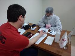 Медики ЦГКБ№6 провели выездную вакцинацию сотрудников Группы ТМК против COVID-19
