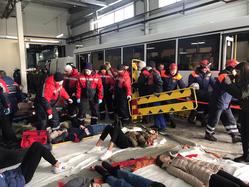 В Территориальном центре медицины катастроф Свердловской области состоялись масштабные учения