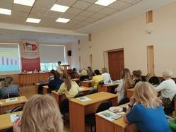 Врачи Центра общественного здоровья приняли участие в слете профсоюза строителей России